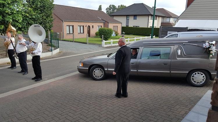 Ceremonievervoer Rouwcenter Segers