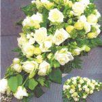 NR 16 romantische druppelvorm met rozen 120 euro