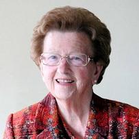 Edwine Valckeniers geboren te Pamel op 22 januari 1929 overleden te Meerbeke op 1 augustus 2017